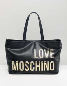Сумка-тоут Love Moschino - Черный