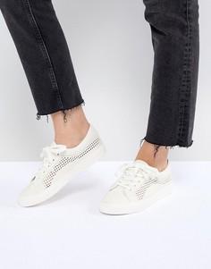 Кроссовки на шнуровке ASOS DESIGN - Кремовый