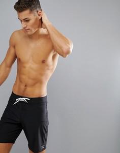 Пляжные шорты длиной 18 дюймов Billabong Platinum X All Day - Черный