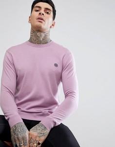 Розовый джемпер с круглым вырезом Pretty Green Hinchcliffe - Розовый