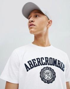 Белая футболка Abercrombie & Fitch - Белый