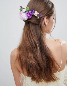 Заколка для волос с цветами ASOS DESIGN - Мульти