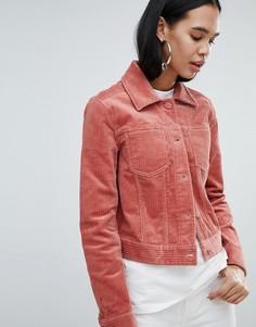 Вельветовая куртка Weekday - Розовый