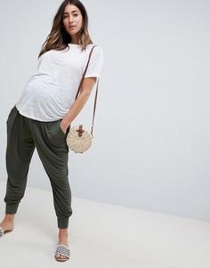 Гаремные брюки ASOS DESIGN Maternity - Зеленый