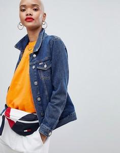 Классическая джинсовая куртка Tommy Jeans - Синий