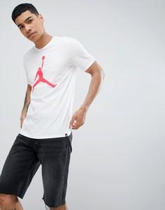 Белая футболка Jordan Jumpan 908017-104 - Белый