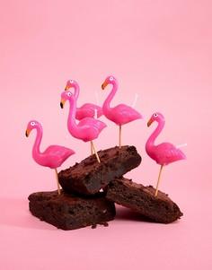 Свечи-фламинго для торта на день рождения Sunnylife - Мульти