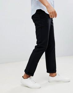 Черные брюки Farah Elm Hopsack - Черный