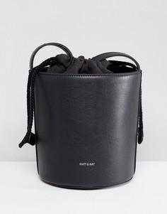 Структурированная сумка Matt & Nat Bini - Черный