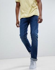 Темные джинсы скинни Blend Cirrus - Серый