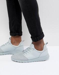Серые кроссовки EA7 - Серый
