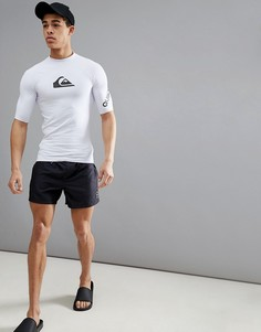 Черные шорты длиной 15 дюймов Quiksilver Everyday Volley - Черный