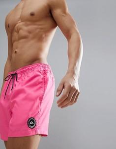 Розовые шорты длиной 15 дюймов Quiksilver Everyday Volley - Розовый