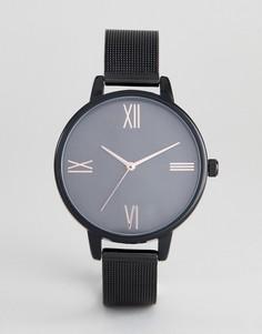 Черные часы ASOS DESIGN Curve - Черный