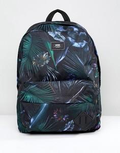 Черный рюкзак с принтом Vans Old Skool II V00ONIPI3 - Черный