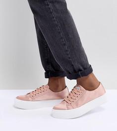 Кроссовки на платформе Sixty - Розовый