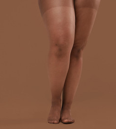 Телесные колготки 15 ден Nubian Skin - Dark - Бежевый