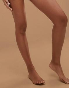 Телесные колготки 13 ден с блеском Nubian Skin - Medium - Бежевый