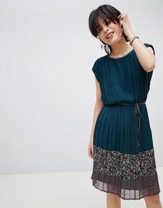 Платье с поясом Deby Debo Verdo - Синий