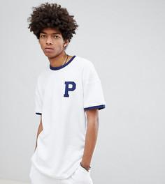 Белая махровая футболка из органического хлопка Puma эксклюзивно для ASOS - Белый
