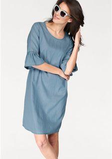 Джинсовое платье Aniston