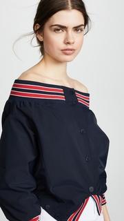 Monse Nylon Upside Down Jacket