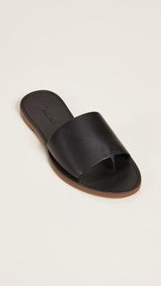 Madewell The Boardwalk Post Slide Sandals