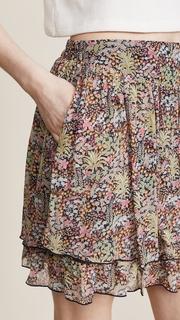 Scotch & Soda/Maison Scotch Double Layer Miniskirt