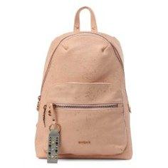 Рюкзак DESIGUAL 18SAXPD0 бежево-розовый