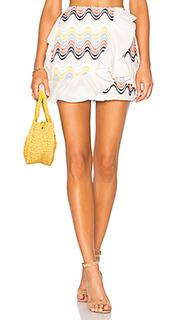 Мини-юбка с рюшами hannah - Tularosa