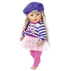 """Одежда для куклы BABY born """"В погоне за модой"""", голубого цвета Zapf Creation"""