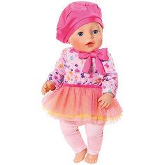 "Одежда для куклы BABY born ""В погоне за модой"", розового цвета Zapf Creation"