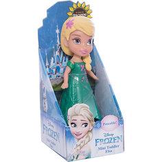 """Мини-кукла """"Холодное сердце"""" Эльза в зеленом платье, 7.5 см Disney"""