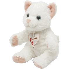 Мягкая игрушка Trudi Белая кошка, 20 см