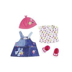 """Одежда для куклы BABY born """"Джинсовая коллекция"""", платье Zapf Creation"""