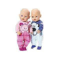 Комбинезончик  BABY born для куклы, голубой Zapf Creation