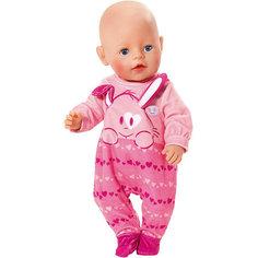 Комбинезончик  BABY born для куклы, розовый Zapf Creation