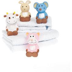 Игрушки для купания  Корова, мышь, кот, кролик, Динглисар, Teddykompaniet