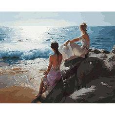 Картина по номерам Белоснежка «У самого синего моря», 40x50 см