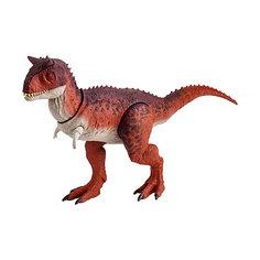 """Фигурка динозавра Jurassic World """"Боевой удар"""", Карнотавр Mattel"""