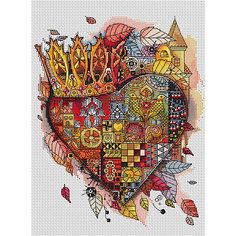 Набор для вышивания Белоснежка «Королевское сердце», 28х30 см