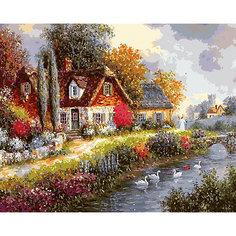 Картина по номерам Белоснежка «Летний день», 40x50 см