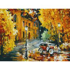 Картина по номерам Белоснежка «Город», 30x40 см