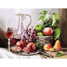 Картина по номерам Белоснежка «Натюрморт с фруктами», 30x40 см
