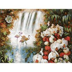 Картина по номерам Белоснежка «Райский сад», 30x40 см