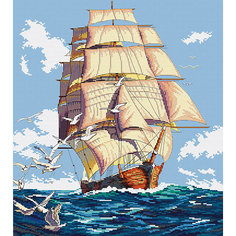 Набор для вышивания Белоснежка «Фрегат», 43х47 см