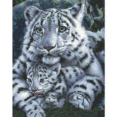 Набор для вышивания Белоснежка «Нежная хищница», 438х46 см
