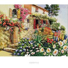 Набор для вышивания Белоснежка «Итальянский дворик», 40х50 см