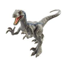 "Фигурка динозавра Jurassic World ""Атакующая стая"", Велоцираптор синий Mattel"