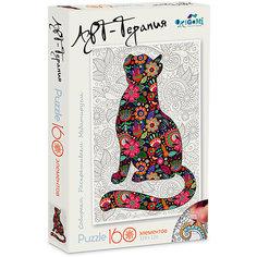 "Пазл Origami ""Арт-терапия"" Кошка, 160 деталей"